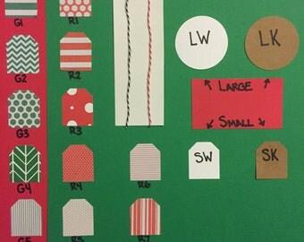 Custom Christmas Gift Tags