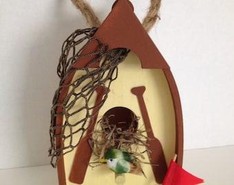 Decorative Boat Birdhouse