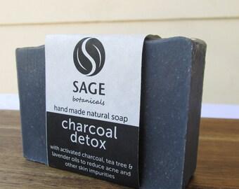 Charcoal Detox hand made natural soap