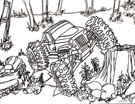 Coloring Pages Of Rc Cars Rc Car Coloring Pages