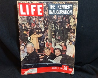 Life magazine - Kennedy Inagaration