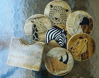 Banana Leaf Coasters
