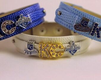 Royals 8mm Slide Charm Bracelet