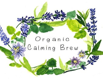 Organic Calming Brew teabelly Herbal Tea