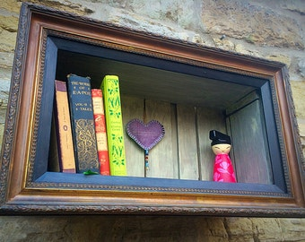 Picture Frame Shelf, individual, quirky, vintage