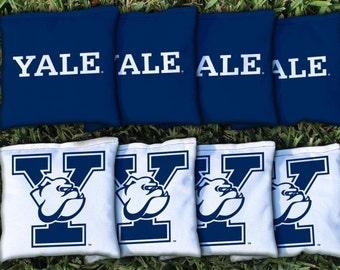 Yale Bulldogs Cornhole Bag Set