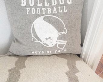 Custom Football Pillow Cover