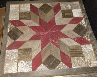 Decorative 2ft by 2 ft Barn Quilt