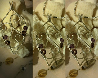 SALE** Wire Wrapped pendant