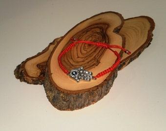 Hamsa bracelet with evil eye, Hamsa bracelet ,Holy Land, Israel.