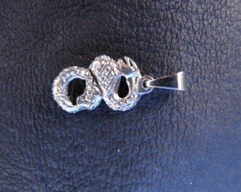 Sterling Silver Snake With Chain