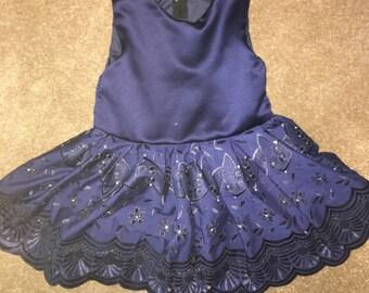 Silk skater dress
