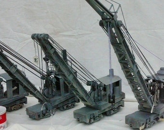 Model Railroad Crane
