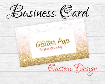 Custom Business card design - business card - custom design - Business Card - Graphic design