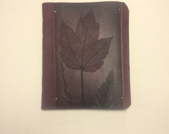 Small Hand-bound leather notebooks