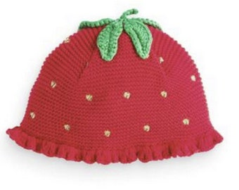 Strawberry Hat for baby