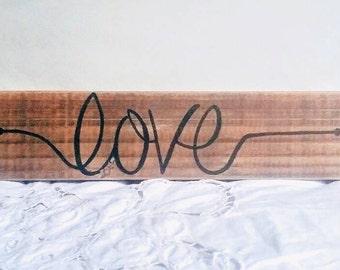Love, Arrow, Love Arrow, Rustic Arrow, Word Arrow, Custom Arrows, Color, Wood, Reclaimed, Home Decor, Collage Wall, Trendy, Popular Decor