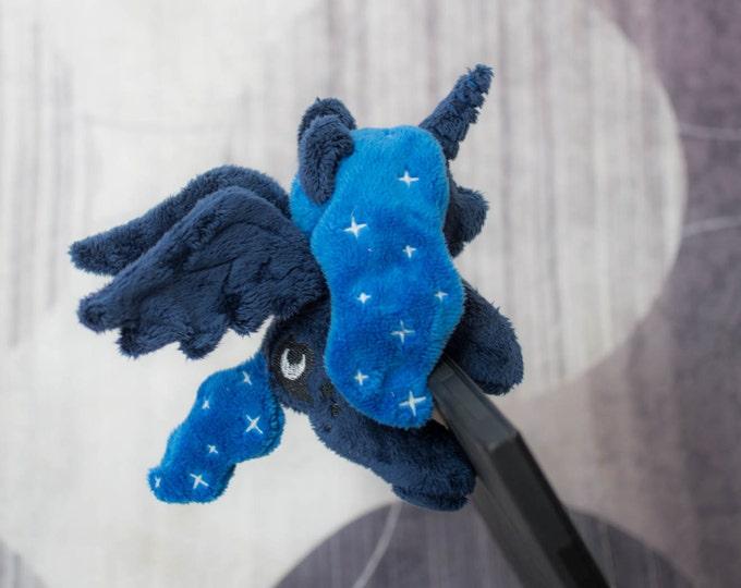Plushie Princess Luna Glow Star Custom Tiny Pony My Little Pony Plush Toy