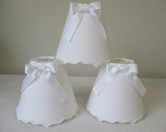 LAMPSHADE for wall lamp or chandelier - in embraces double and knot - Color in the choice