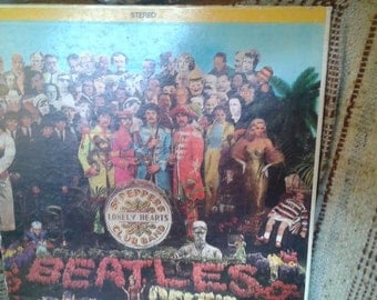 BEATLES * SGT. PEPPERS Lonley Heart's Club Band
