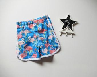 SALE Boys Shorts, Toddler Short, Retro Clothing, Size 2