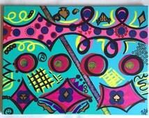 Pop Art Multicolored