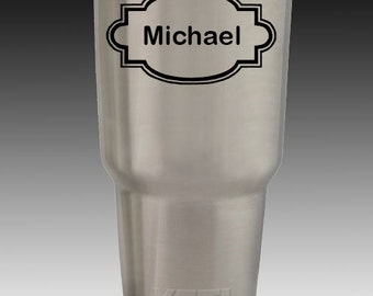 30 oz YETI rambler tumbler personalized engraved with your design