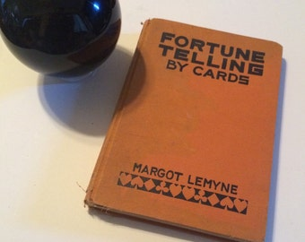 Vintage Fortune Telling by Cards Book