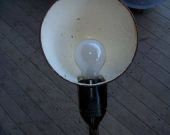 Vintage Industrial Age Arm Lamp Light Steampunk