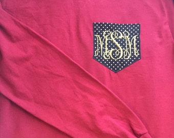 FSU pocket tee