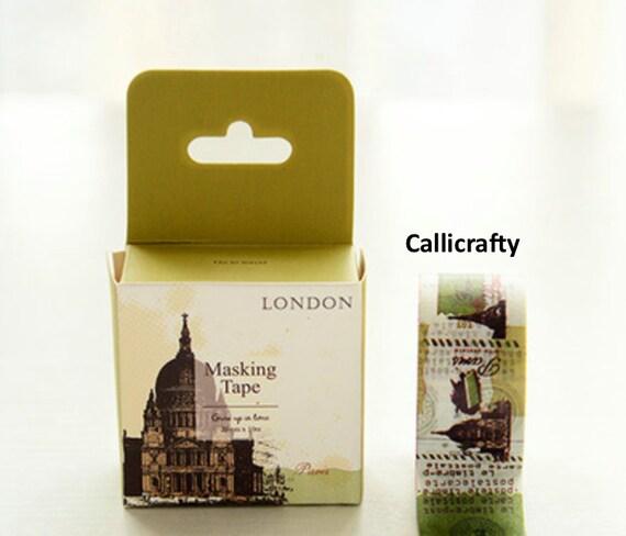 London paris japanese washi tape masking tape scrapbooking - Boutique masking tape paris ...