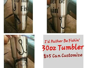 Personalized Tumblers as good as the Yeti