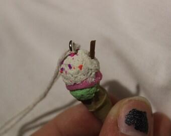 3 Scoop Ice Cream Charm