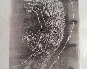 Blurryfox (ghost print)