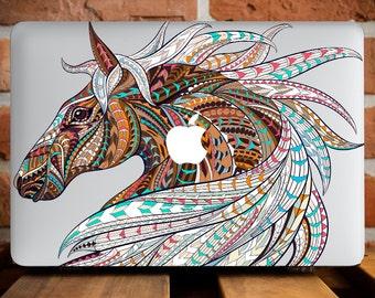 MacBook Pro Hard Case Colorful Horse MacBook Air 13 Hard Case MacBook Pro 13 Case MacBook Air Case MacBook 12 Case Laptop Case Retina WCm075