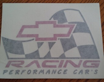 Chevy Racing Decal