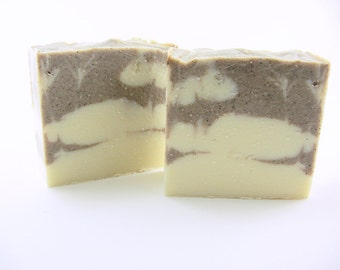 Pumpkin Cheesecake Soap, ginger root and clove essential oils, Natural Soap, Cold Process, handmade, clove, ginger, pumpkin pie spice