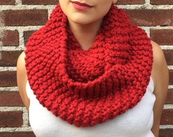 Flame Red Scarf