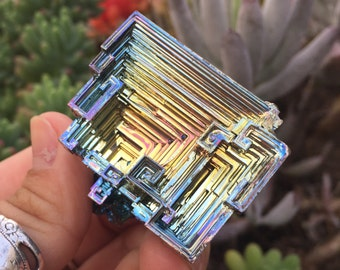 Bismuth Crystal 7