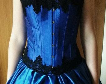 Royal Blue Ballgown