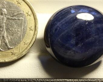 Sapphire cabochon pebble 52.73ct