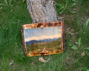 Mission Mountains Montana Photo Wall Board