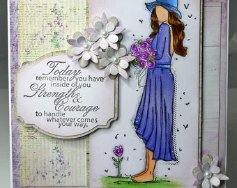 Handmade Inspirational Card
