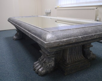 Large Theatrical Statement Coffee Table
