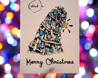 Bergamasco Christmas Card