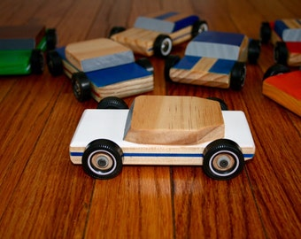 Listing for Michael DeTar- Handmade wood cars- Set of 7