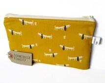 Dachshund Sausage Dog Pencil Case, Pencil Bag, Cute Dog Pencil Pouch