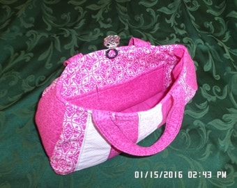 Quilted handmade purse
