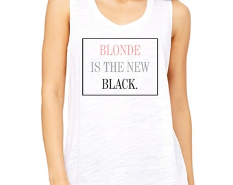 Custom for Nicole - Blonde is the new black.