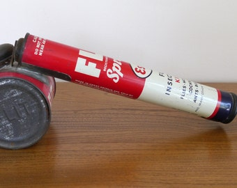 Esso Flit sprayer, bug sprayer, 1940s Flit sprayer, Esso Flit insect sprayer, vintage Flit sprayer